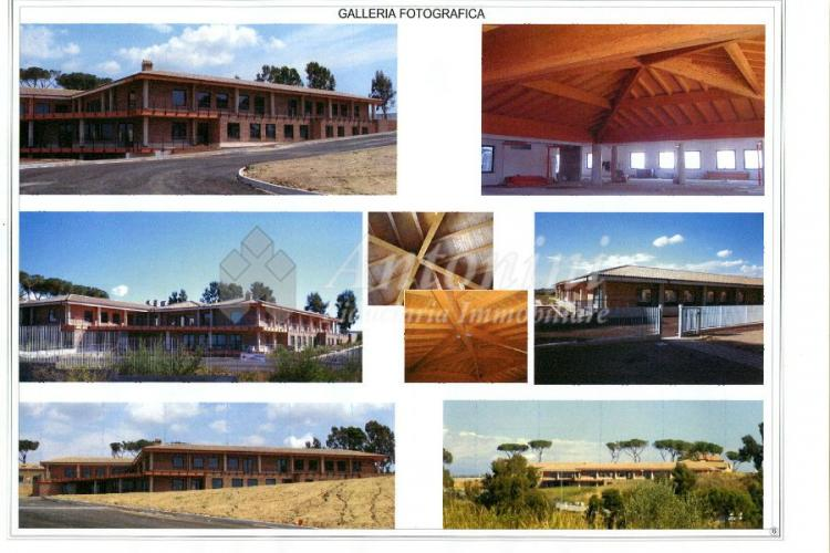 """Magliana """"Casale Somaini"""" Office for sale and for rent 4600 sqm"""